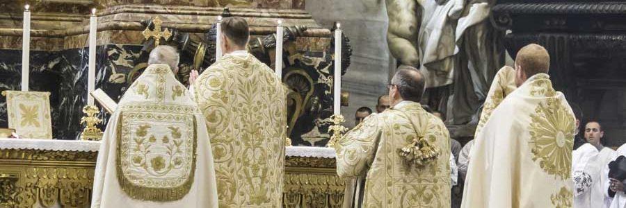 Msza w Bazylice św. Piotra