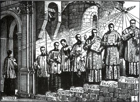 Stopnie formacji seminaryjnej