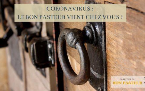 Koronawirus : Dobry Pasterz przychodzi do Was